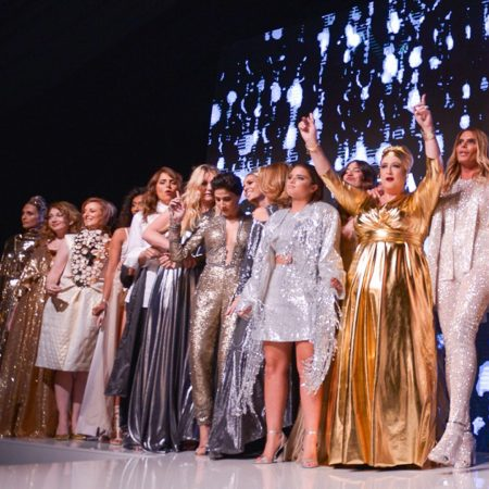 שבוע האופנה tlv אידיאל יופי אומץ fashion week tel aviv זהב כסף נוצץ