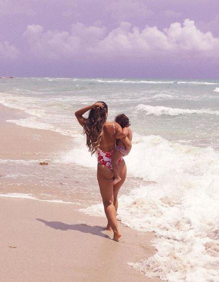 חוף הים בגד ים שלם ילדים