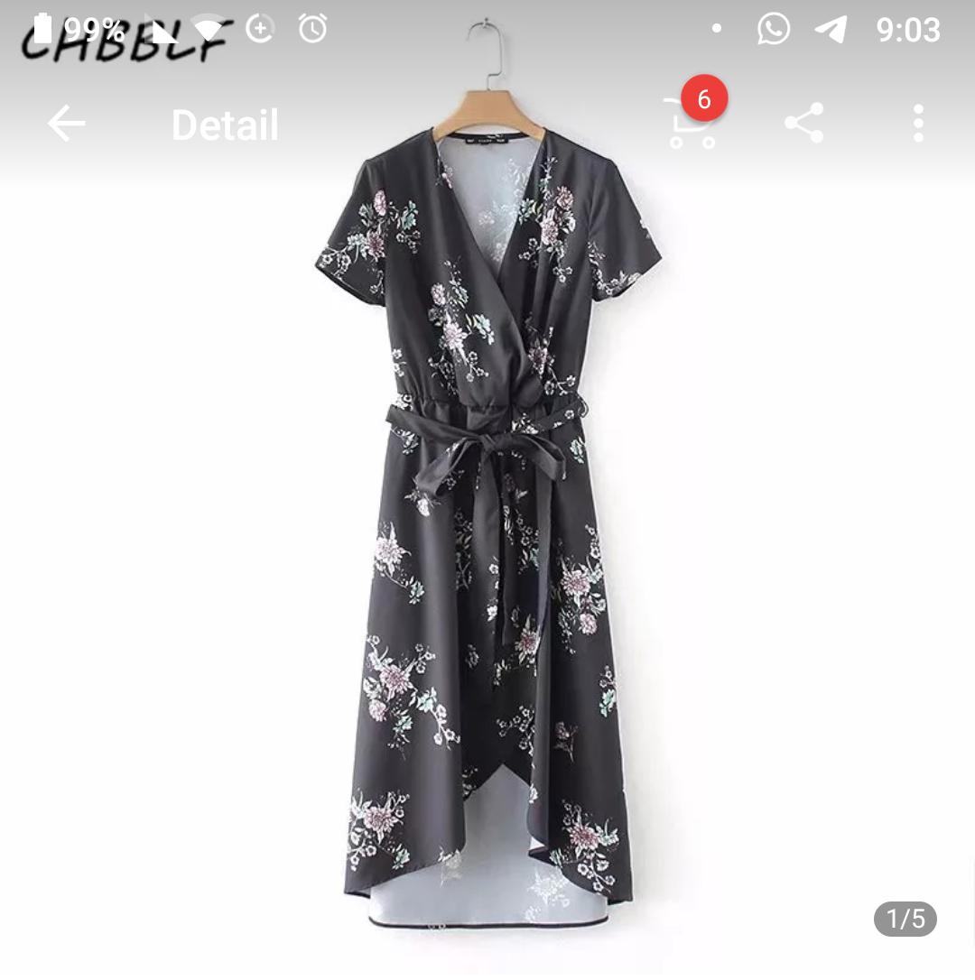שמלת מעטפה אביב