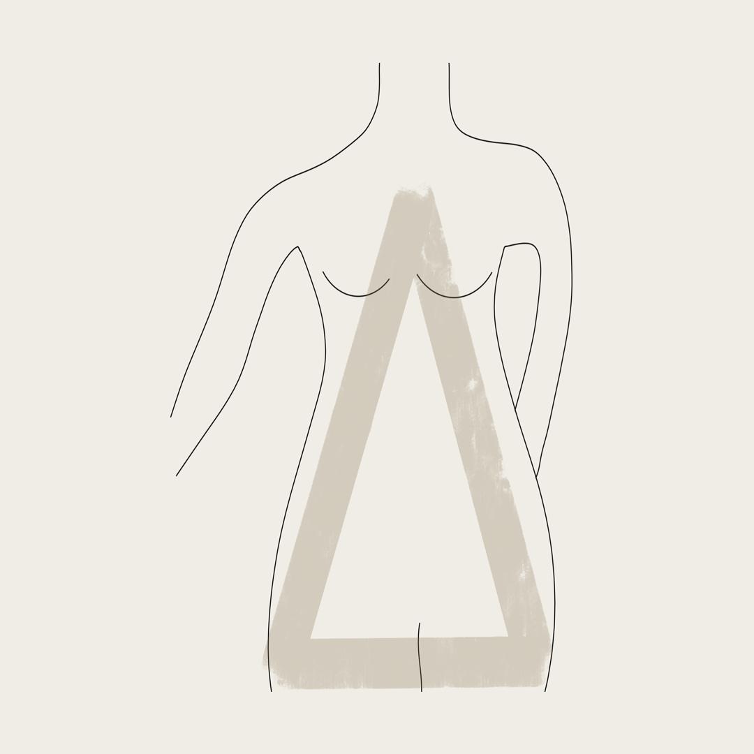 מבנה גוף משולש