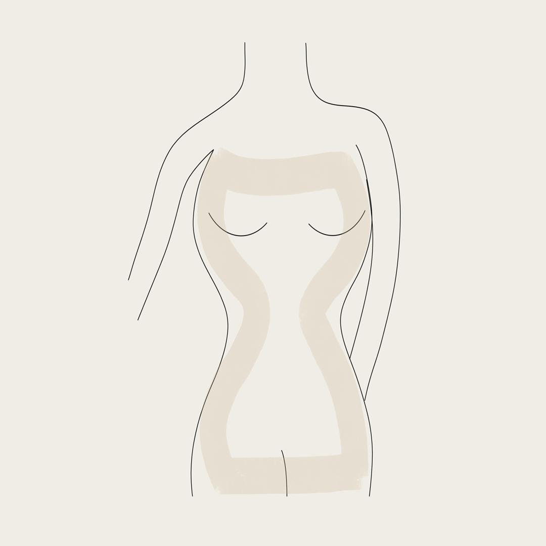 מבנה גוף שעון חול