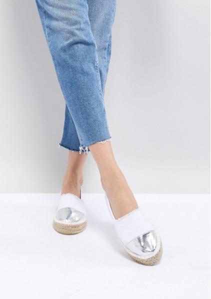 פשנגה fashanga says shopping online שופינג אונליין חגיגי חג חגים אסוס saos נעליים אספדריל לבן כסף