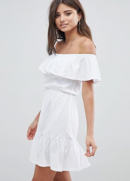 פשנגה fashanga says shopping online שופינג אונליין חגיגי חג חגים shein אסוס asos שמלה לבנה קלאסית