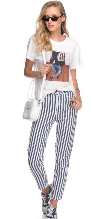 עדיקה ג'ינס מכנסיים adika פסים קניות אונליין שופינג zaful פשנגה fashanga טרנד איביי ebay