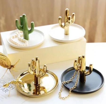 קקטוס זהב אחסון אקססוריז לבית קניות לבית asos ebay fashanga טרנד אופנה home decor