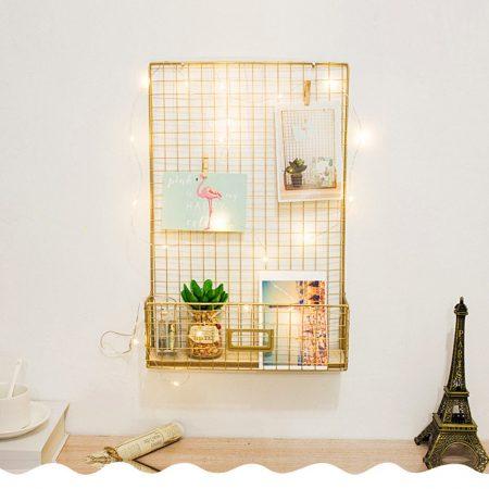 רשת זהב חדר עבודה אקססוריז לבית קניות לבית asos ebay fashanga טרנד אופנה home decor