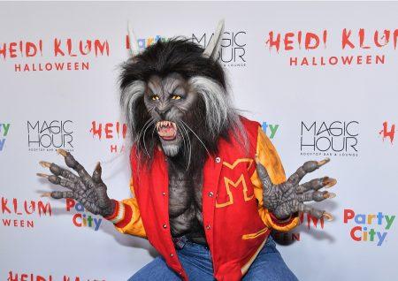 היידי קלום תחפושת פורים האלווין מייקל ג'קסון פשנגה heidi klum costume