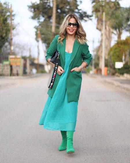 אופנה בלוג פאשיוניסטה פשנגה בלוגריות ורד הורן ירוק טוטאל לוק fashion blog blogger total look אינסטגרם instagram