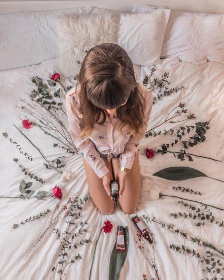 אביב פרחים לבן אינסטגרם יפה נקי פרחים פרופיל לוהט תמר גולן הדוניסטית