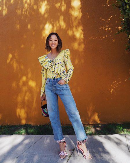 ג'ינס סקיני סטרייט אופנה חדשה טרנד ג'ינסים denim jeans skinny streight song of style aimee song