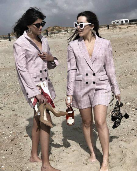 חליפה חליפות פסטל מושלם פשנגה בלוגריות ליאת אוחנה קורל גל suit suits trend טרנד אופנה 2018 אביב קיץ