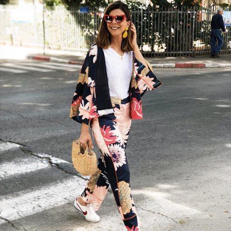 חליפה חליפות פסטל מושלם פשנגה פרחים פרחונים הדפס בלוגריות suit suits trend טרנד אופנה 2018 אביב קיץ
