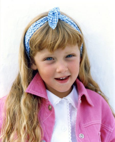 קיארה פראני דוגמנית ילדה סלבס ילדים בלונדינית אינסטגרם