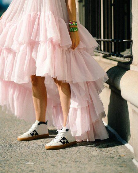 thefashionguitar סגול לילך טרנד ורוד צבעי פסטל אופנה בלוגרית פאשיוניסטה טרנדים צבעים מכנסיים חולצה סטייל