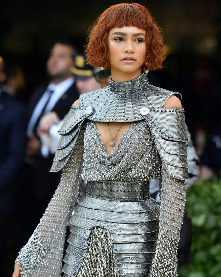 זנדייה מט גאלה 2018 שמלה met gala nyc סלבס