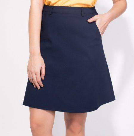 לבוש משרדי body cover טרנדים יומיום לבוש משרד חצאית כחולה מידי עבודה