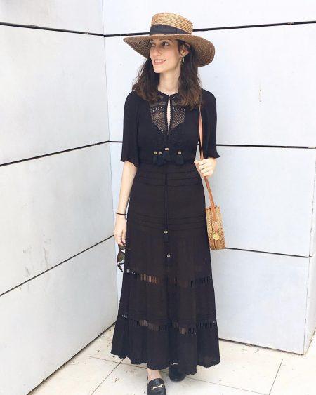 סטייל בלוגים אינסטגרם instagram מינימליסטי מינימלי סגנון לבן אופנה לייף סטייל נועה מונרוב כובע קש