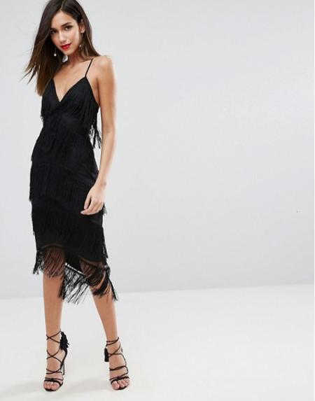 שמלה שמלות נשף 2018 אסוס asos פשנגה fashanga style חגיגי שחור