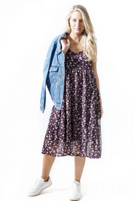 שמלה קיץ פרחים פרחוני הדפס אונליין קניות שופינג צבעים