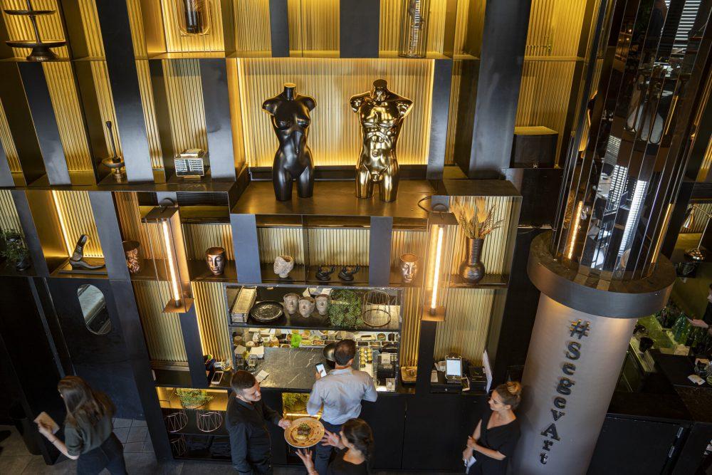 מסעדת שגב ארט - עיצוב פנים - אדריכלות - גיא סירוטה - עיצוב יפה