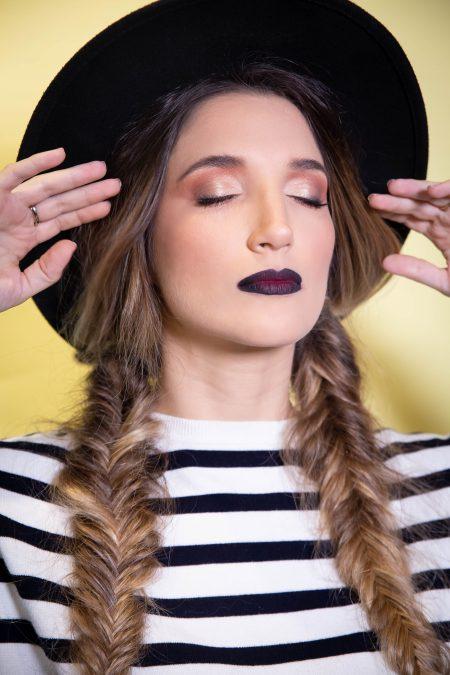 hair and makeup express איפור שיער סילבסטר שנה חדשה נצנצים