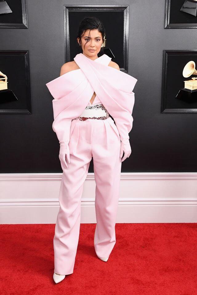 Kylie Jenner Grammys 2019